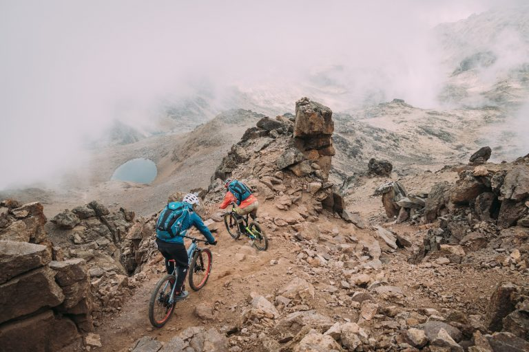 Mount Kenya & Mount Kilimanjaro back to back on bikes with Hans Rey, Danny MacAskill and Gerhard Czerner