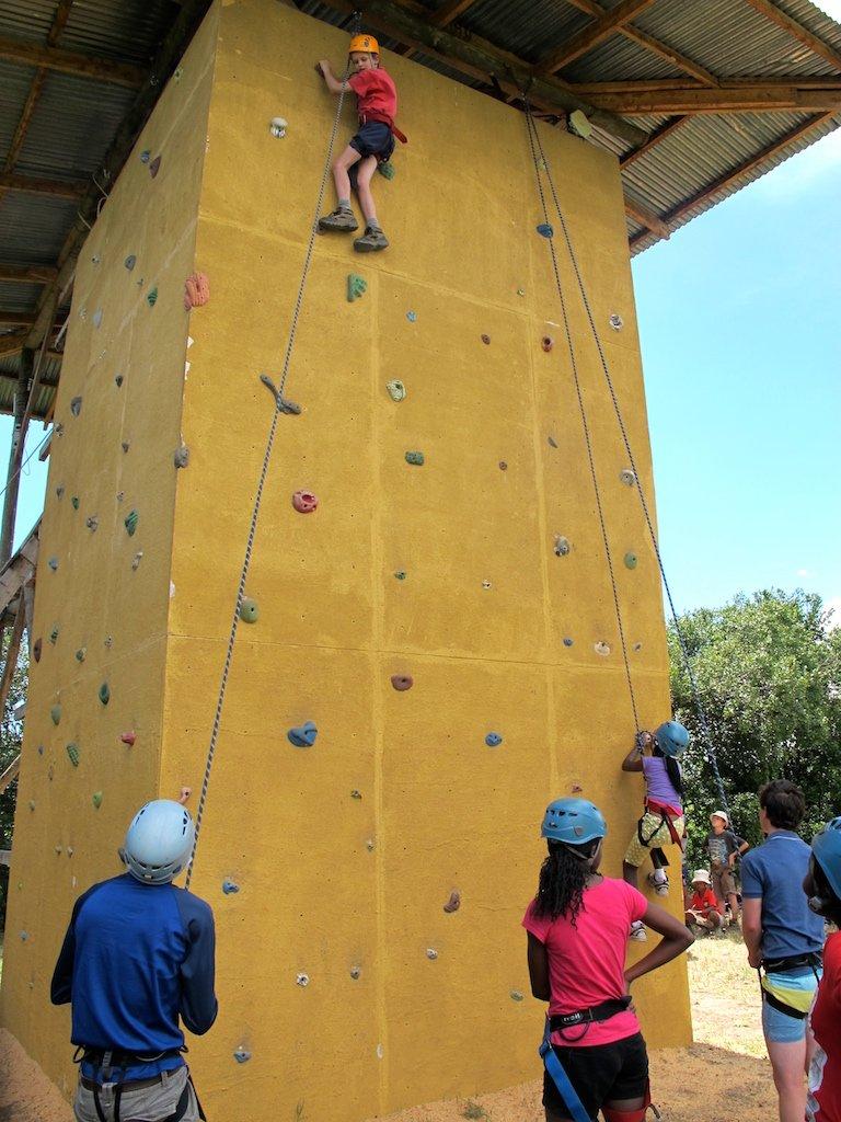 ClimbingWall Rift Valley Adventures Student Trips Overview