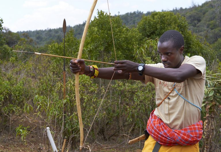 Comparing modern and traditional archery – A Samburu warrior's perspective…