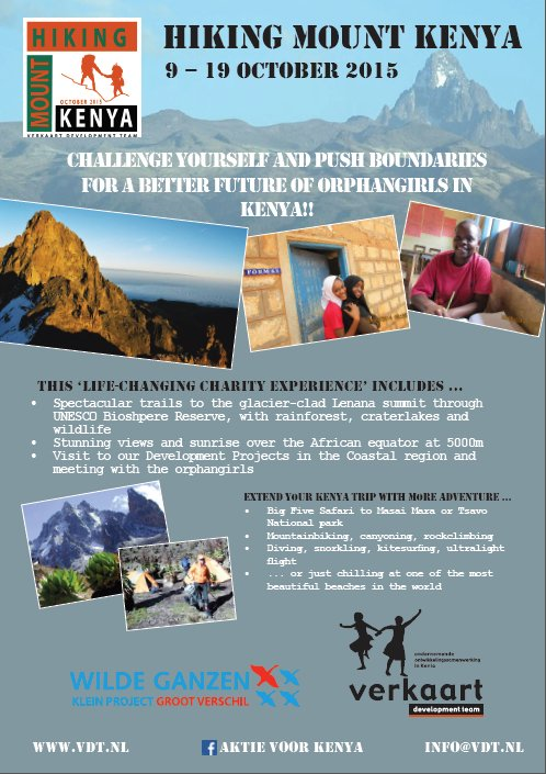 Hiking Mount Kenya – Charity Challenge