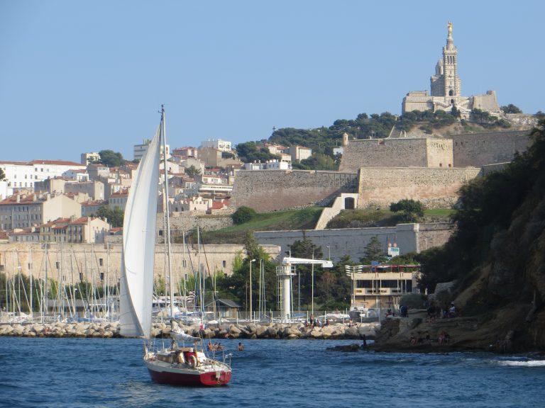 Marseille entrée port Notre Dame Garde Rift Valley Adventures France