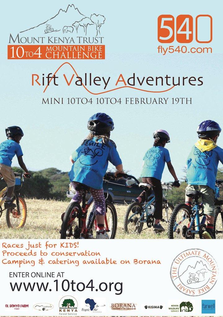 MINI 10to4 Mountain Bike Challenge Kenya