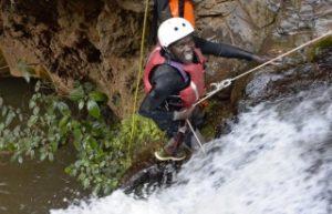 Canyoning in Kenya