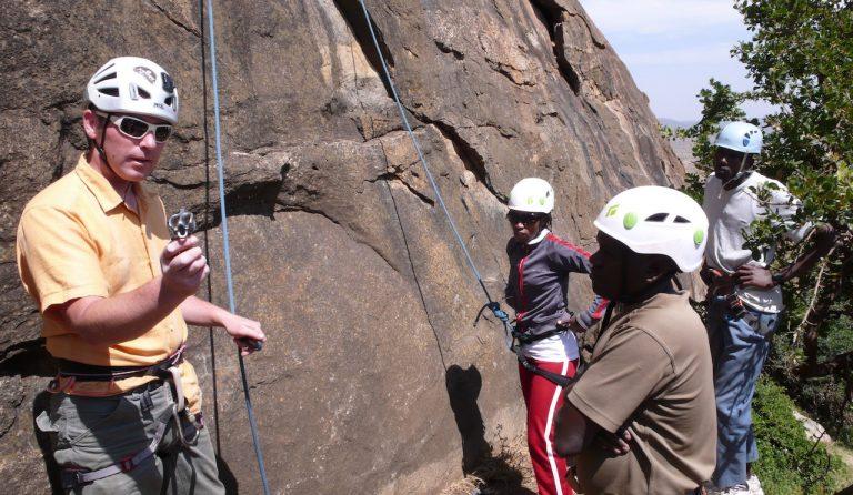 rockclimbingtrainingKenya 1 Rift Valley Adventures Safety First