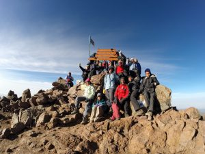 Top of the Mountain with Peponi House
