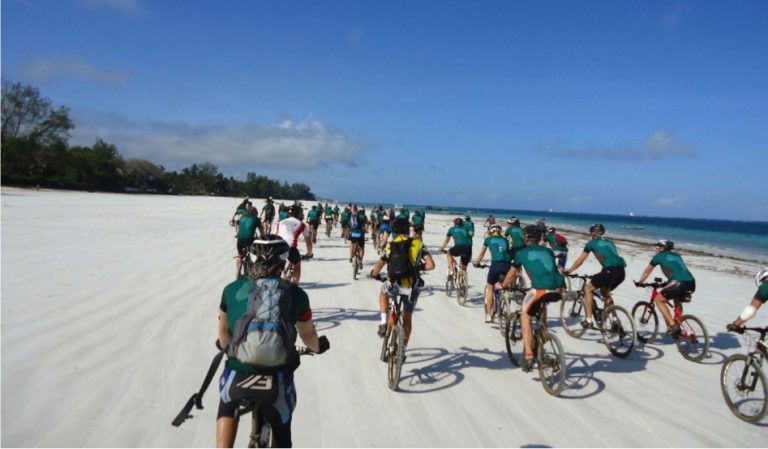 Cycling for Kenya Event 2014