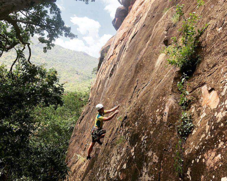 rock climbing in Kenya
