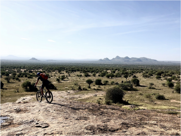 'Tour Du Laikipia', mountain bike expedition