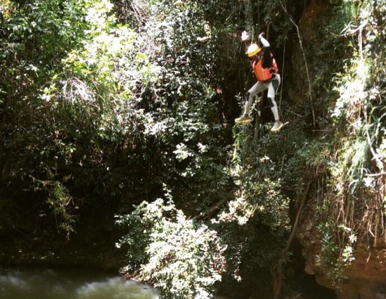 canyoning in Kenya