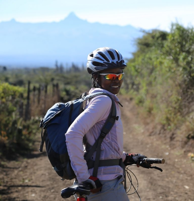 From mountain bike safaris to climbing Mount Kenya – meet Joyce!