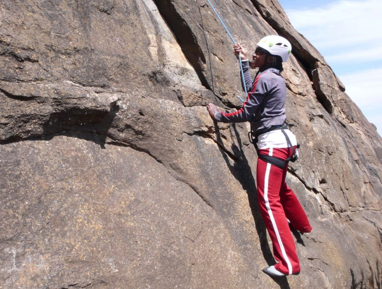 rockclimbingKenya Rift Valley Adventures From mountain bike safaris to climbing Mount Kenya - meet Joyce!