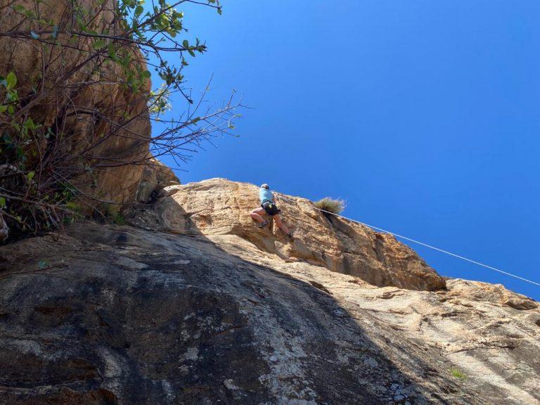 RockClimbKenya Rift Valley Adventures Rock Climbing Skills Foundation Course